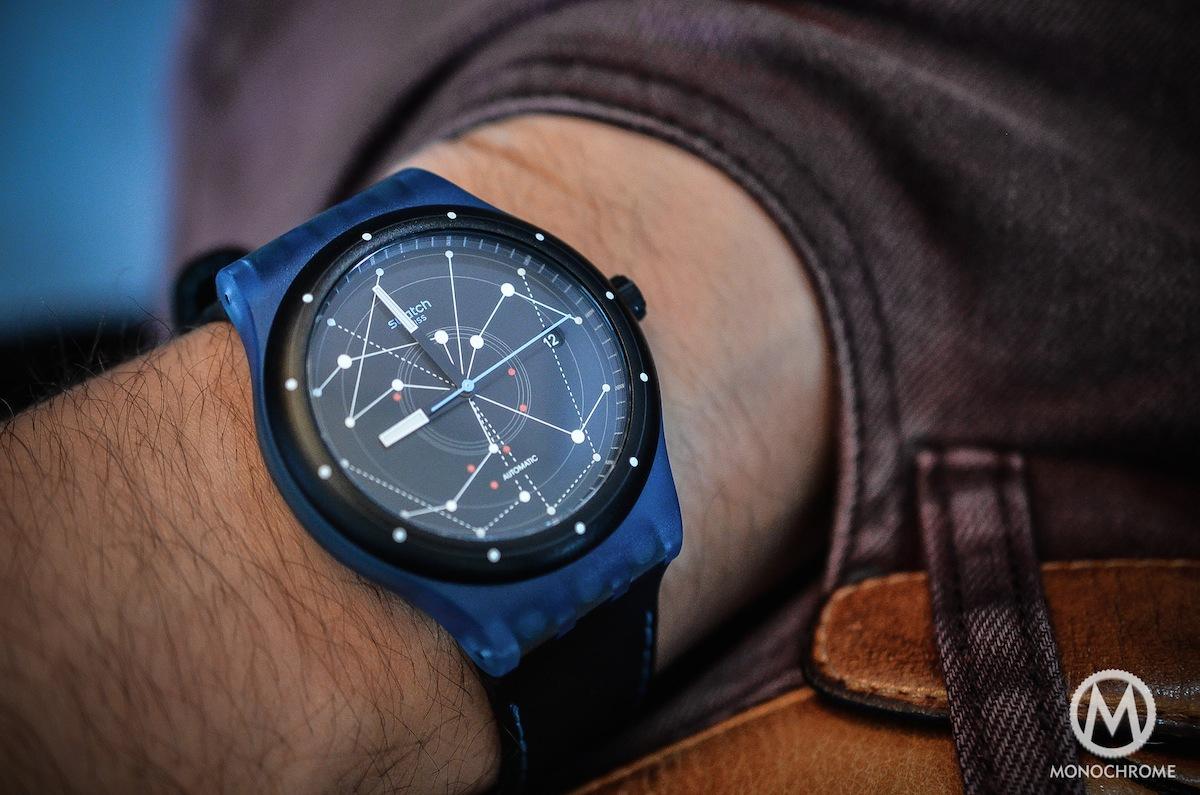 swatch sistem51 blue - 13