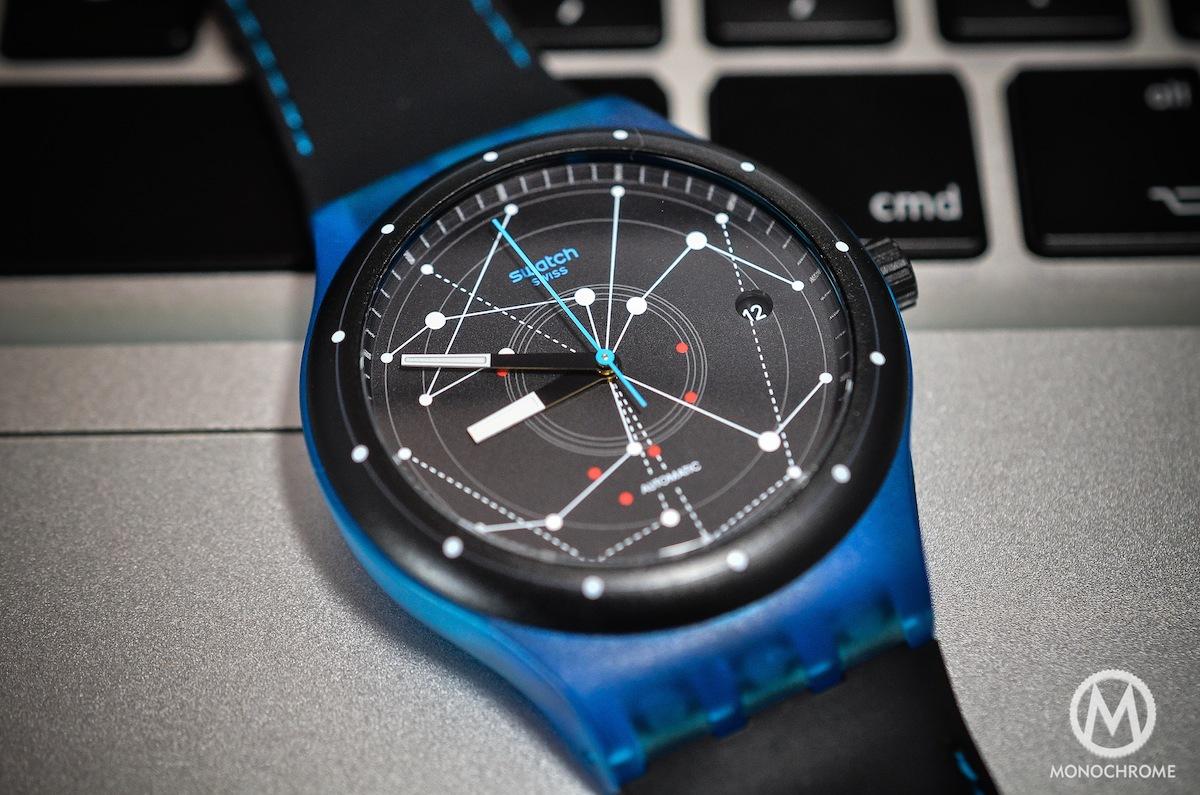 swatch sistem51 blue - 2