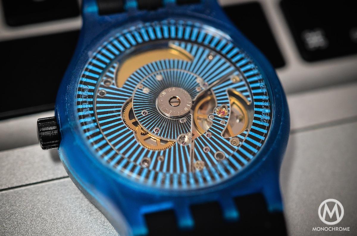 swatch sistem51 blue - 4