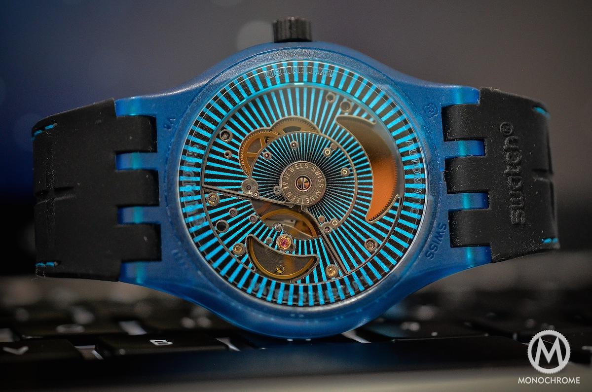 swatch sistem51 blue - 8