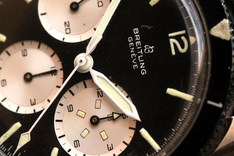 1965 Breitling Avi Reversed Panda