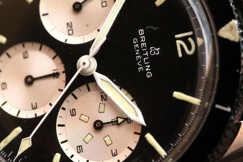 1965 Breitling Avi Reversed Panda