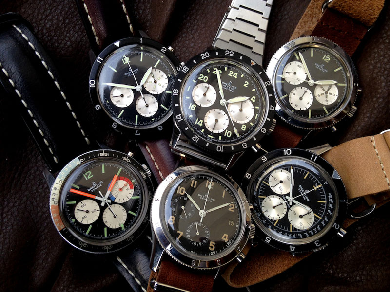 Breitling AVI collection