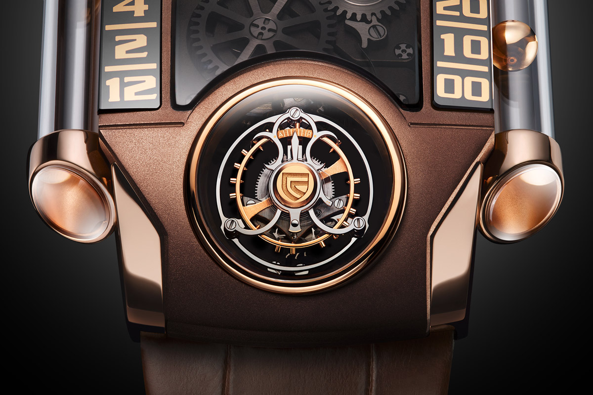 Christophe Claret X-trem-1 brown - 2