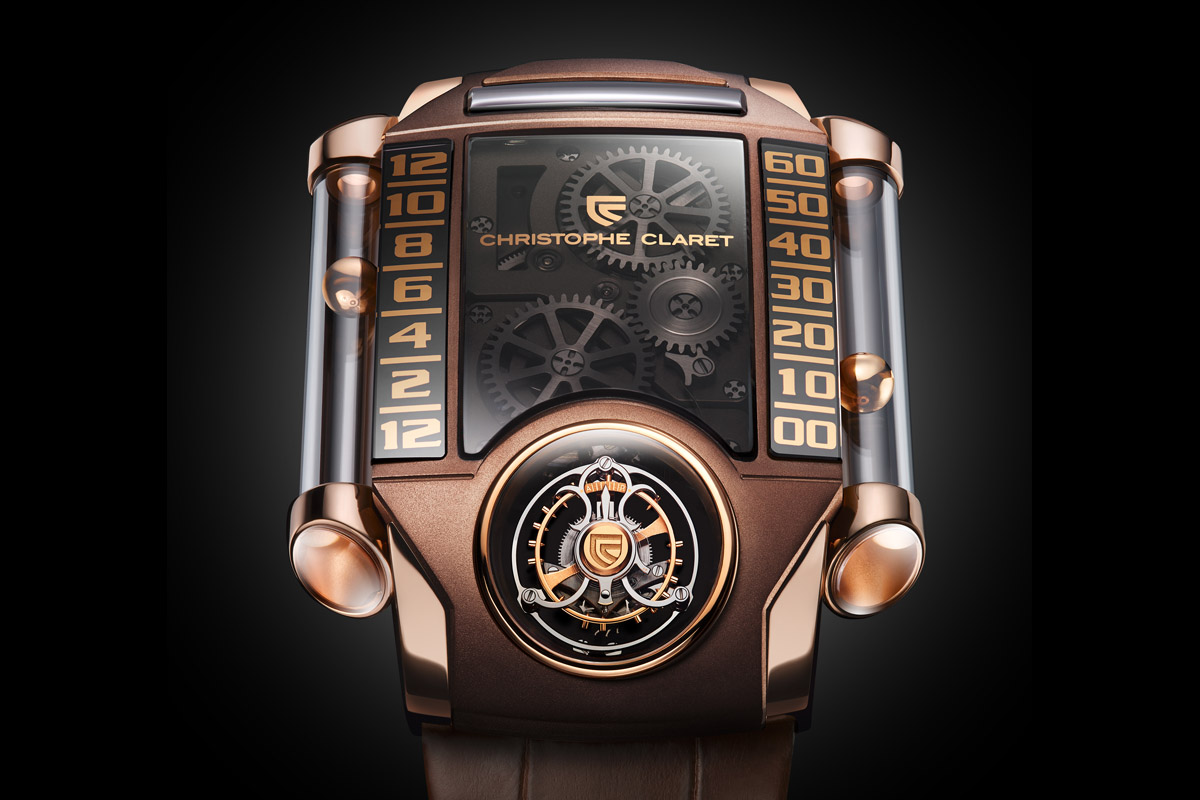 Christophe Claret X-trem-1 brown - 3