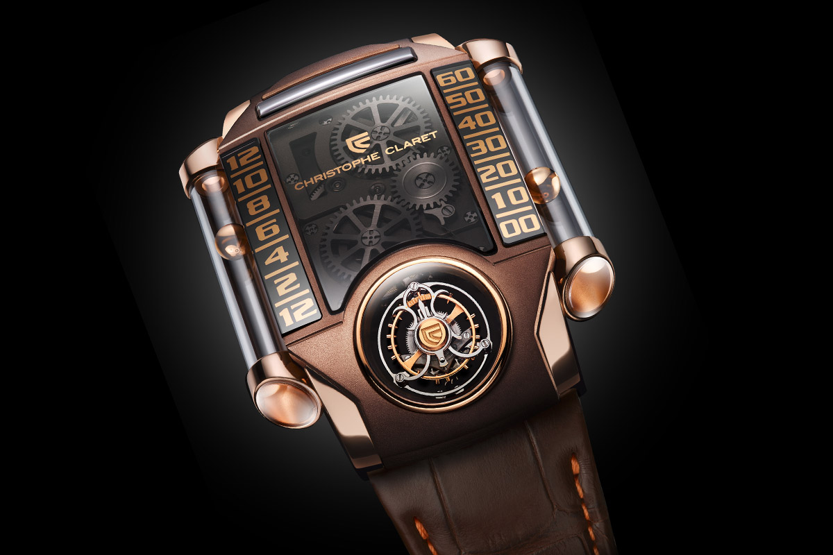 Christophe Claret X-trem-1 brown - 4