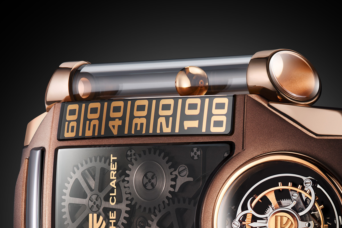 Christophe Claret X-trem-1 brown - 5