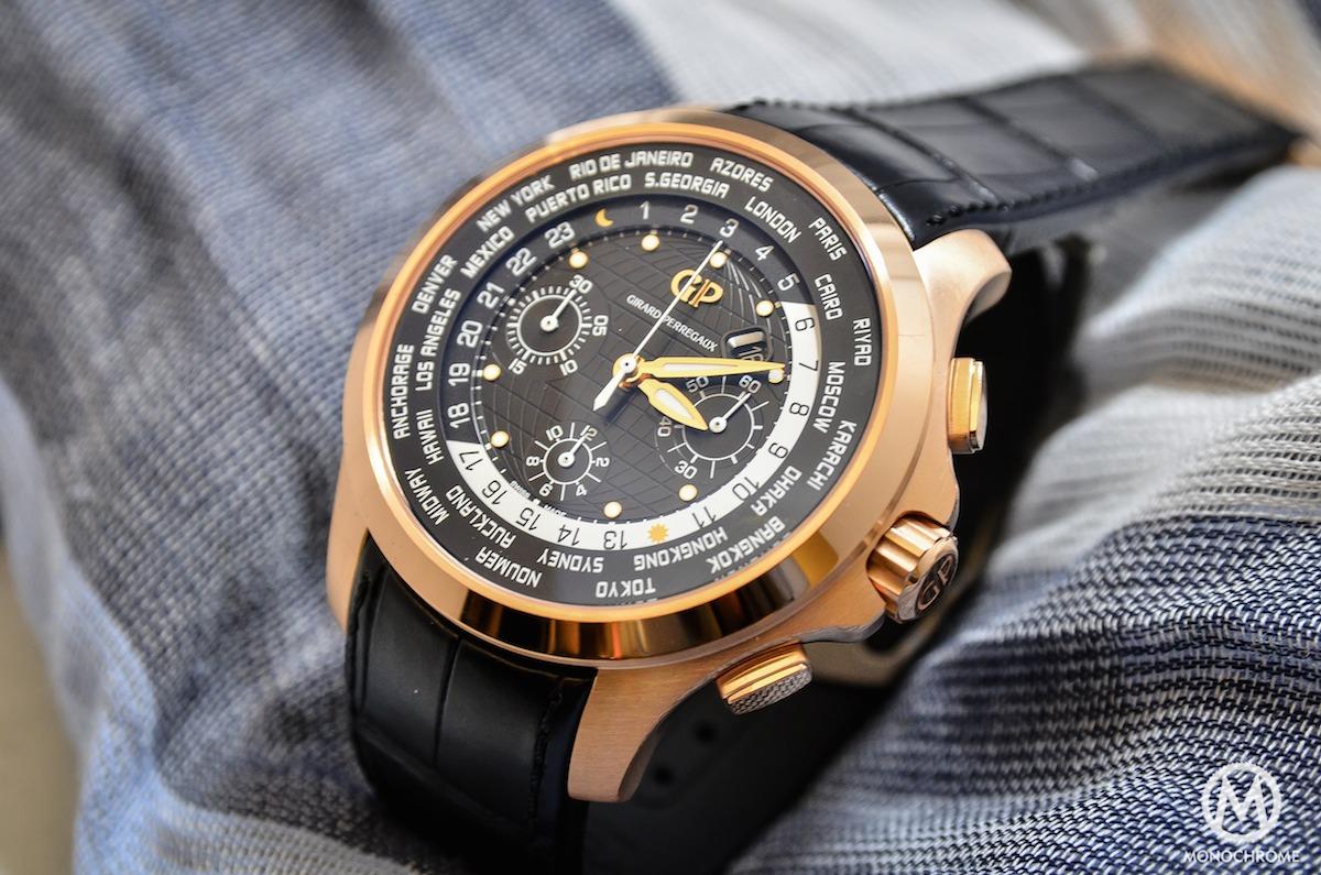 Girard-Perregaux Traveller WW.TC Pink Gold black dial - 2