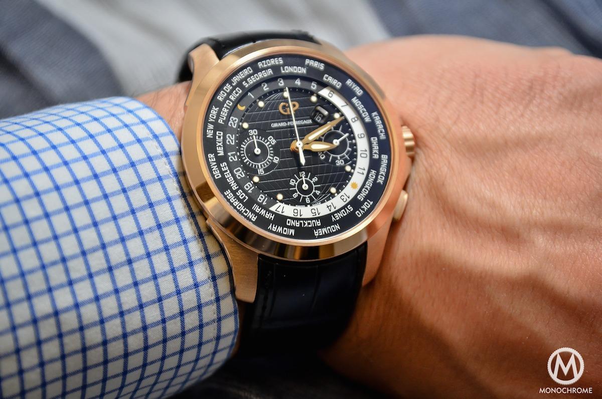 Girard-Perregaux Traveller WW.TC Pink Gold black dial - 4