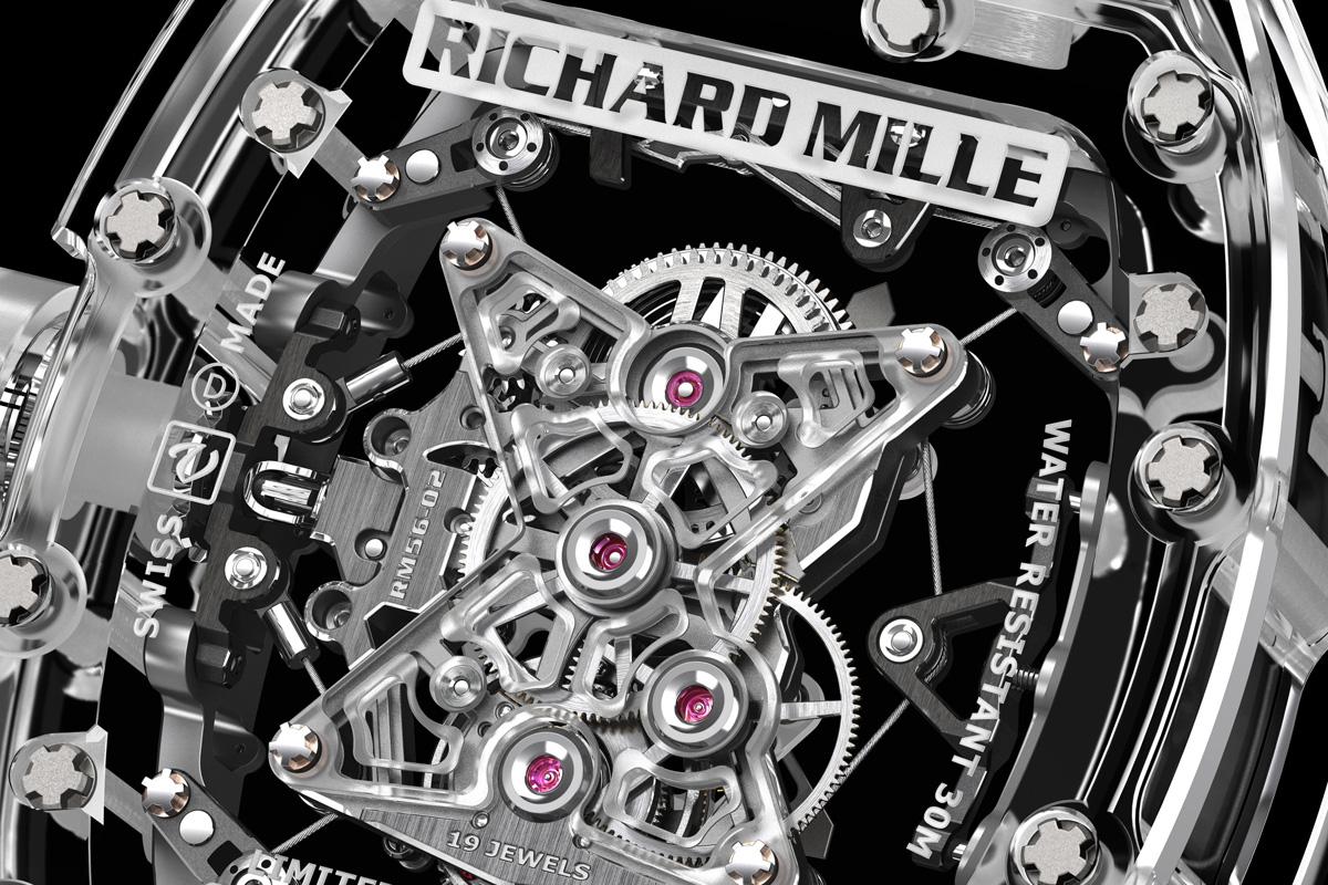 Richard Mille RM 056 Sapphire - 3