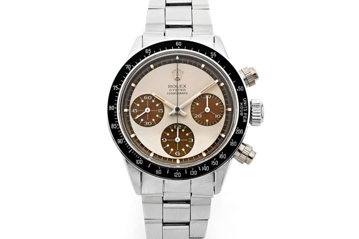 Rolex Daytona Paul Newman 6263 tropical Coffee - 1