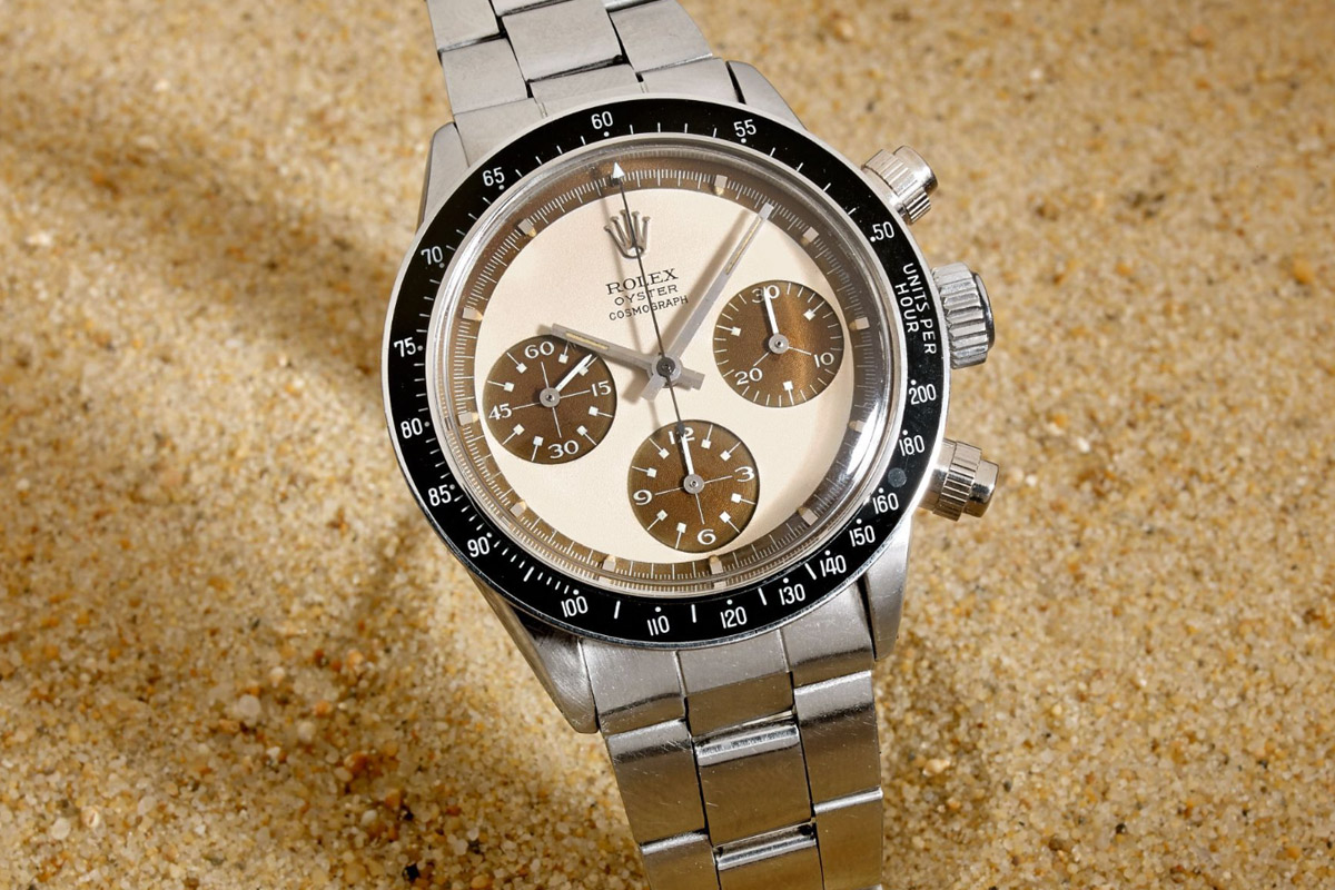 Rolex Daytona Paul Newman 6263 tropical Coffee - 2