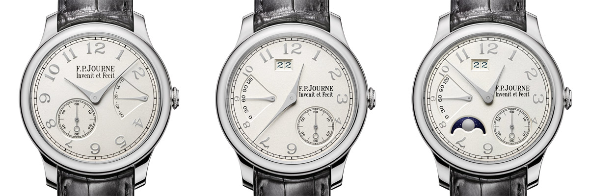 FP Journe gold dial collection