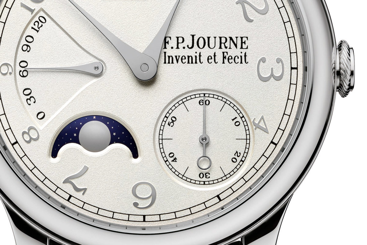 FP Journe Octa Luna gold dial