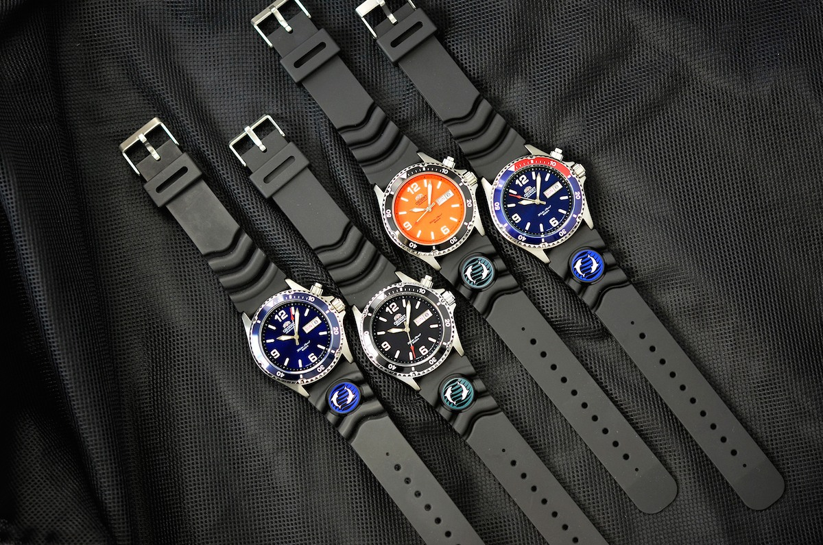 orient mako rubber strap collection - 1
