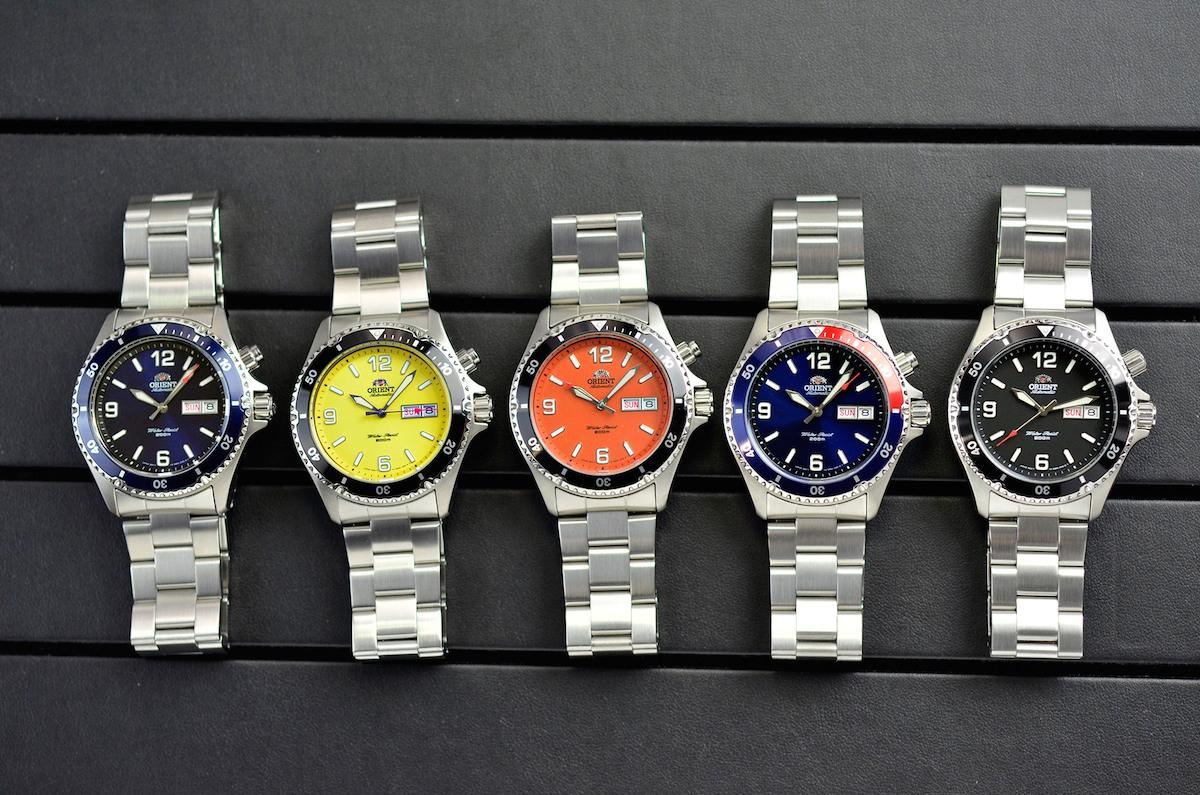 orient mako steel bracelet collection