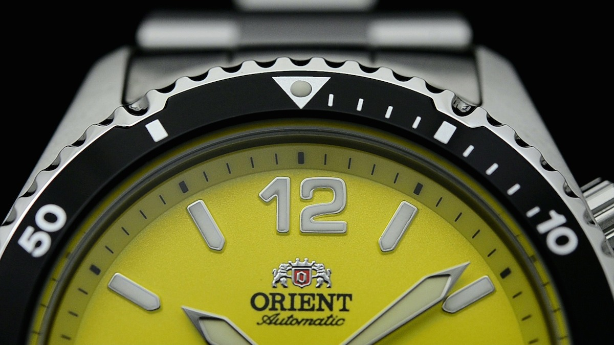 orient mako yellow limited edition USA - 4