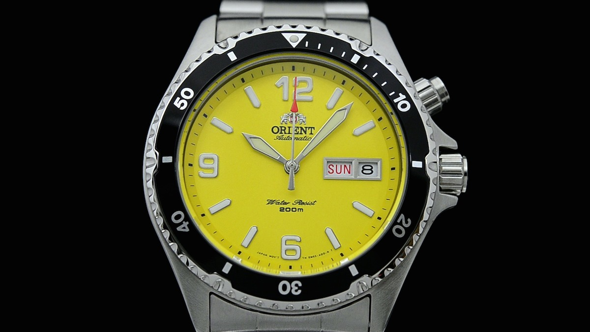 orient mako yellow limited edition USA - 5
