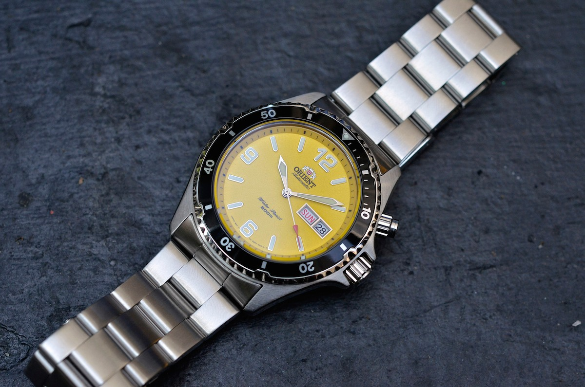 orient mako yellow limited edition USA - 6