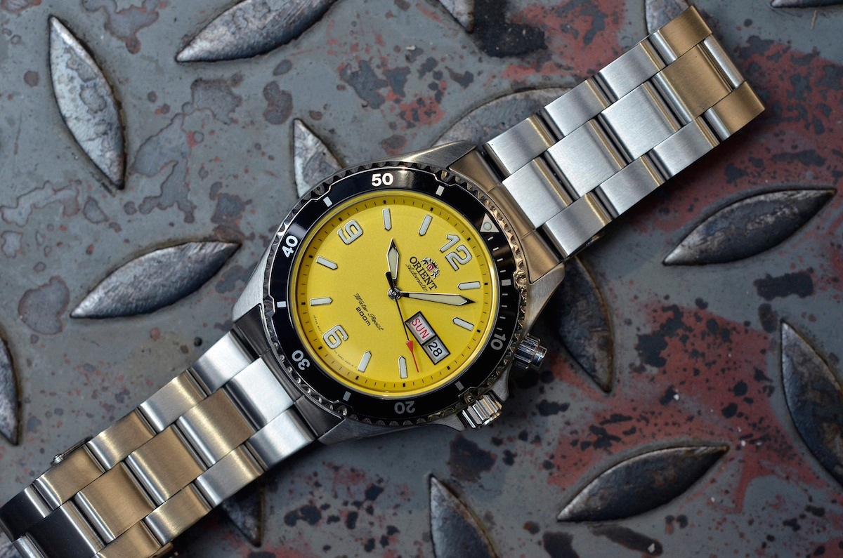 orient mako yellow limited edition USA - 7