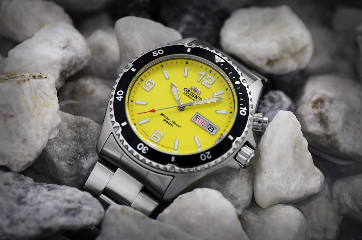 orient mako yellow limited edition USA - 8