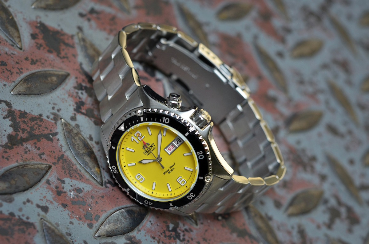 orient mako yellow limited edition USA - 9