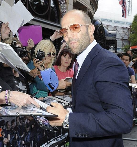 Statham and his Rolex Explorer II 1655