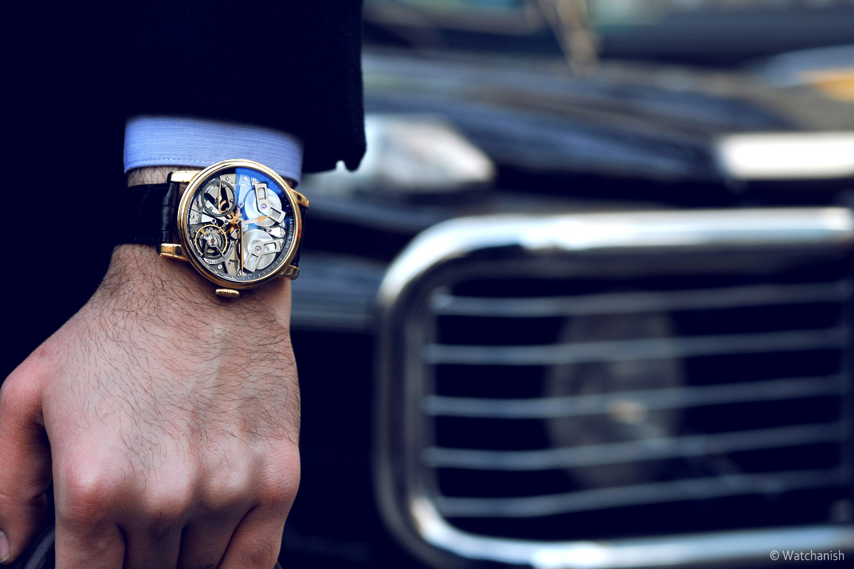 Arnold & Son TB88 pink gold - 2