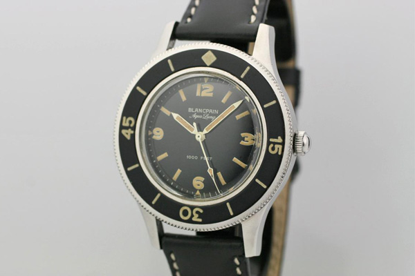 Watchtime Wednesday The History Of The Blancpain Fifty Fathoms