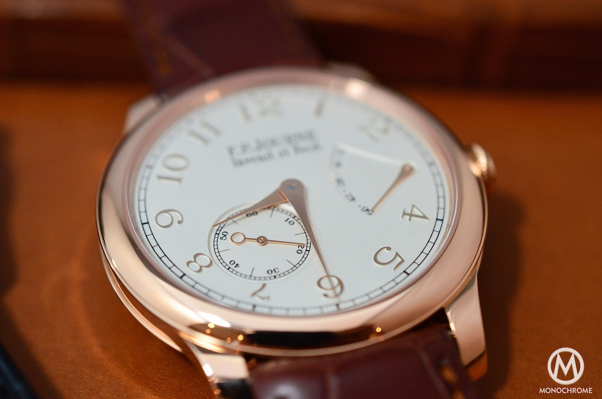 FP Journe CHronometre Souverain Gold Dial - 3
