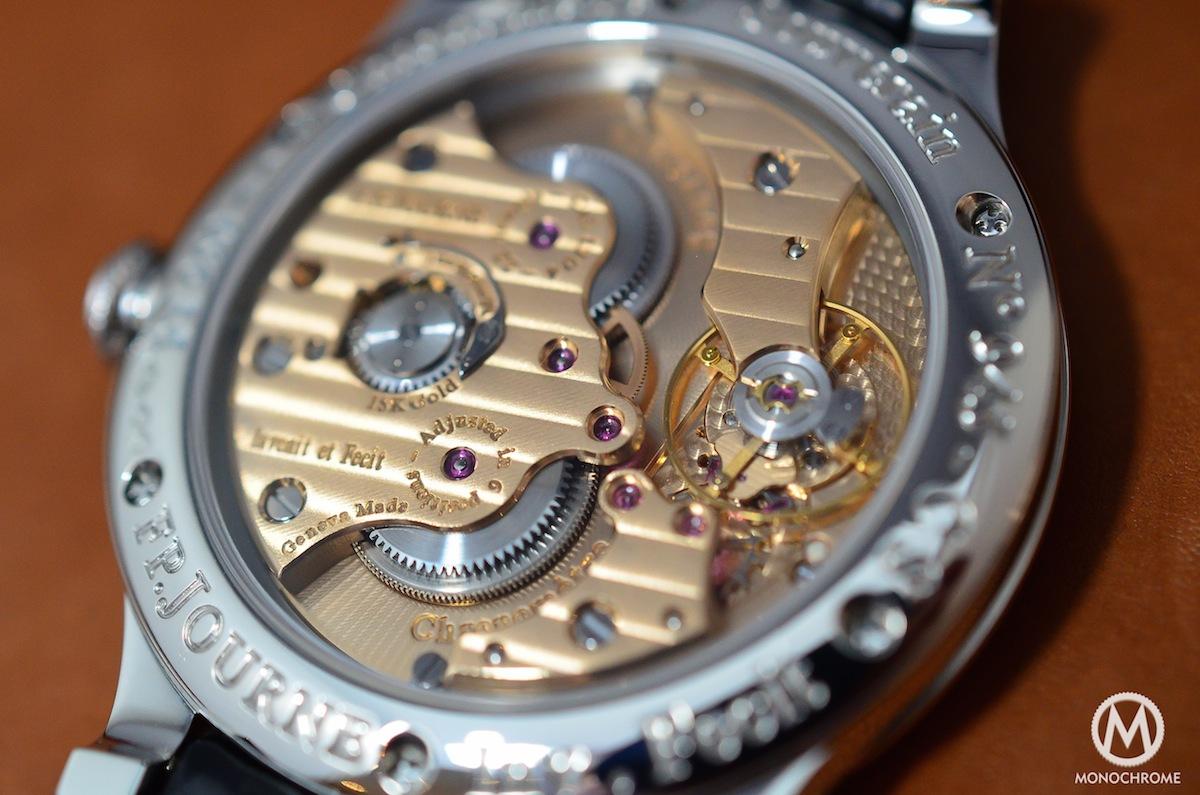 FP Journe CHronometre Souverain Gold Dial - 6