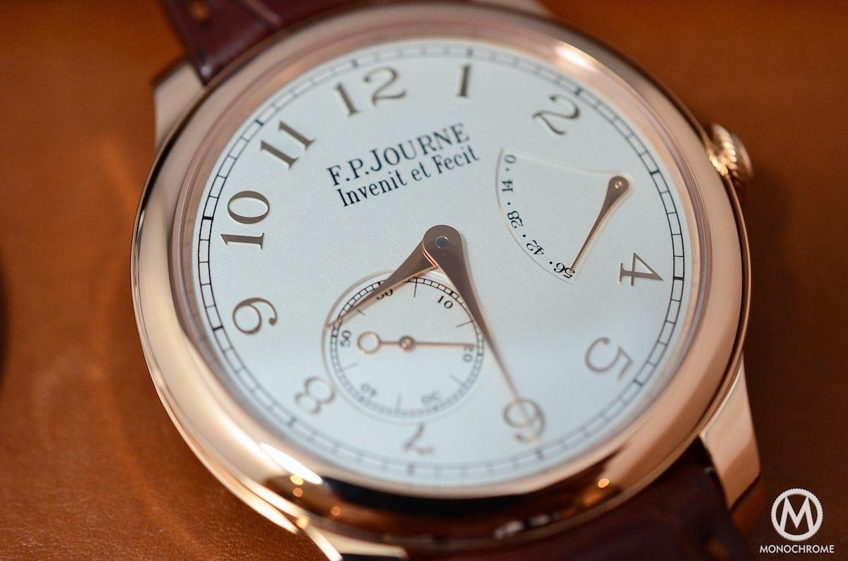 FP Journe CHronometre Souverain Gold Dial - 7