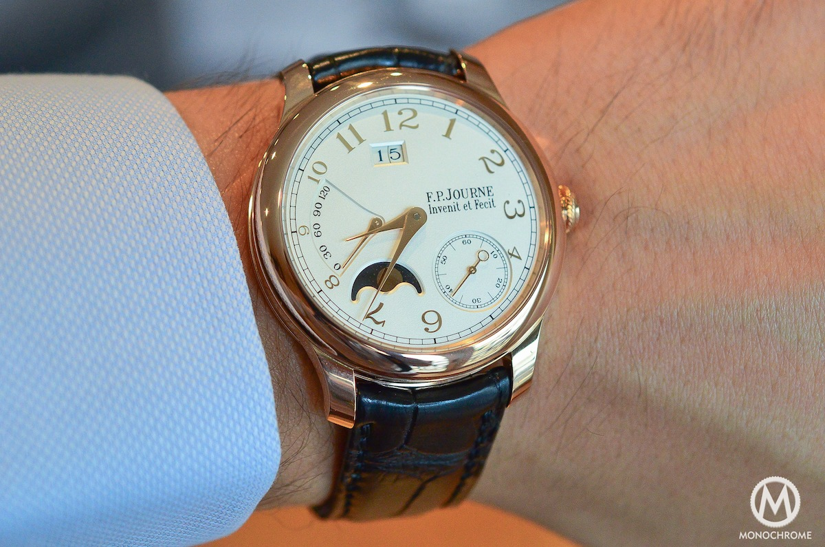 FP Journe Octa Lune Gold Dial - 2