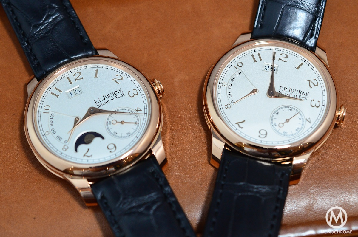FP Journe Octa Lune Power Reserve Gold Dial - 1