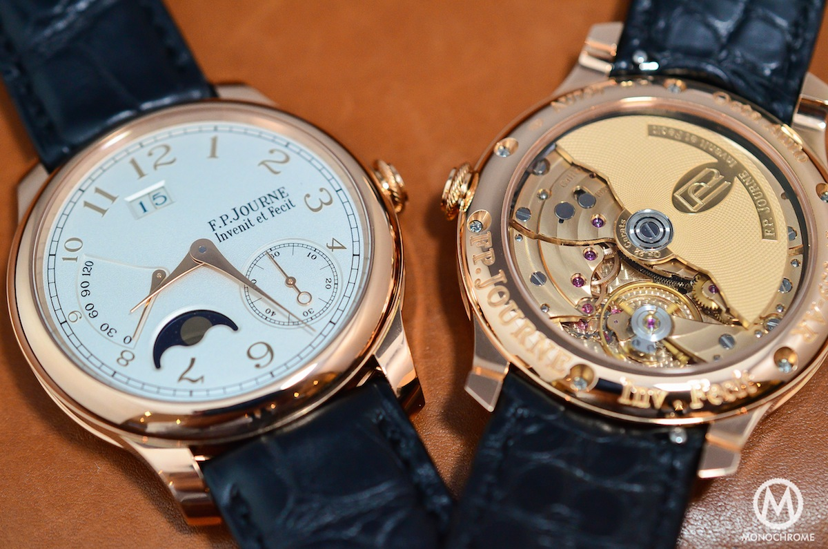 FP Journe Octa Lune Power Reserve Gold Dial - 2