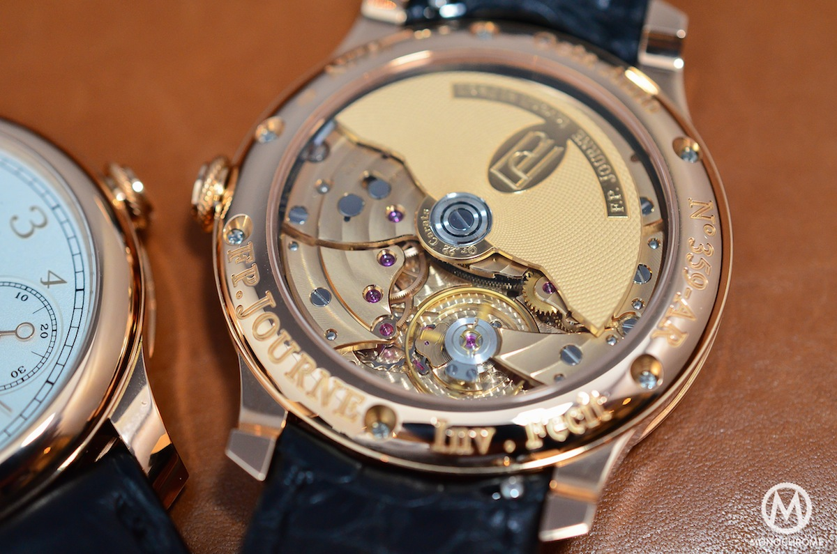 FP Journe Octa Lune Power Reserve Gold Dial - 3