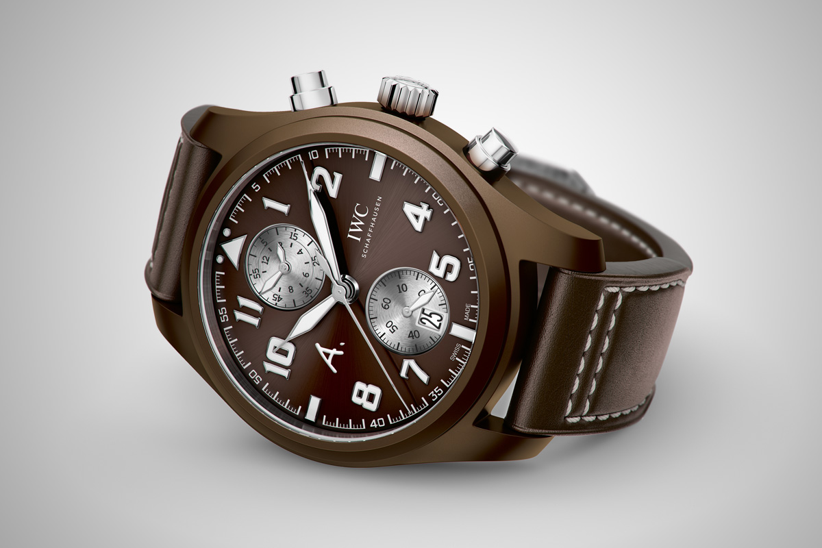 IWC pilot Chronograph Saint Exupery The last flight - 1
