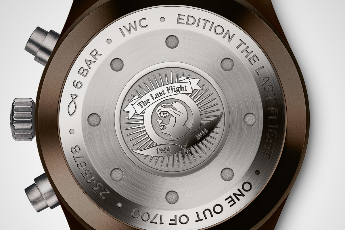 IWC pilot Chronograph Saint Exupery The last flight - 2