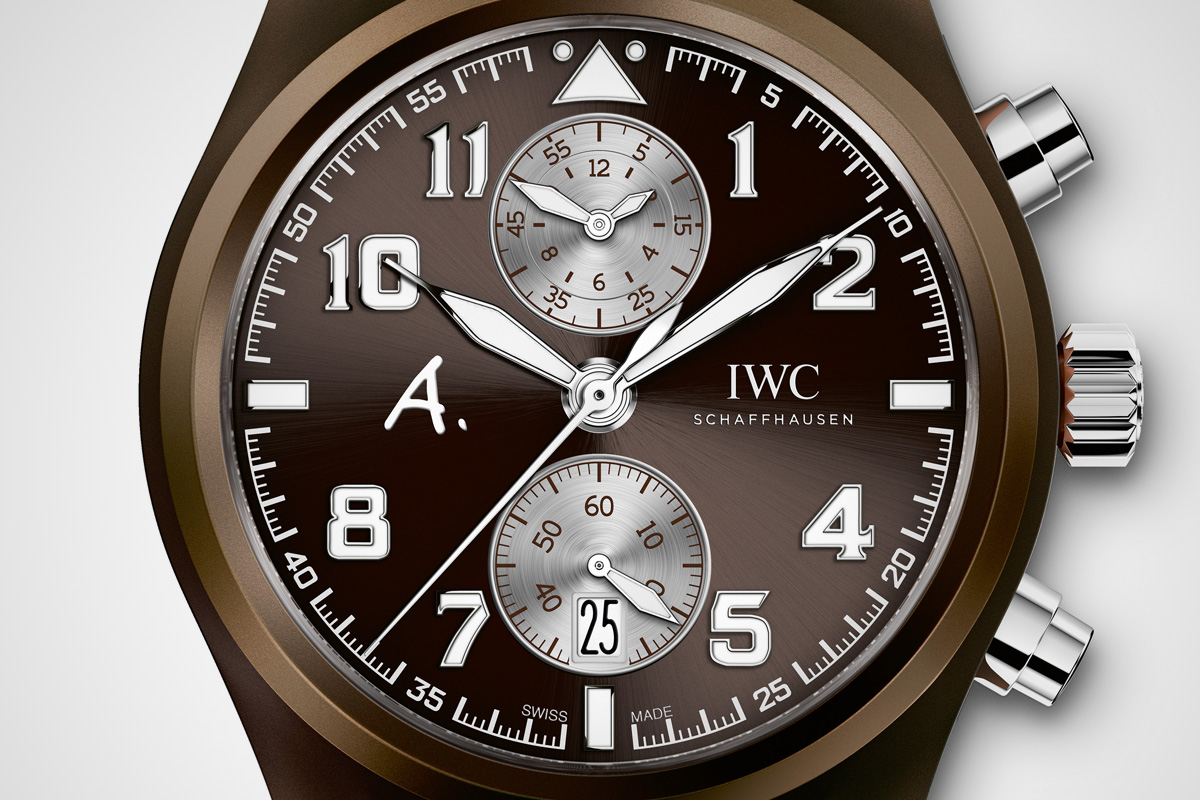 IWC pilot Chronograph Saint Exupery The last flight - 3