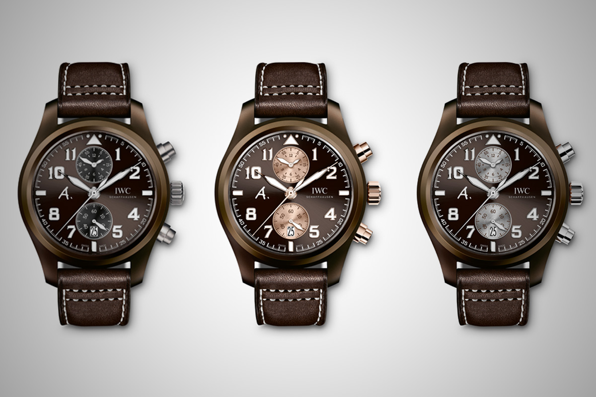 IWC pilot Chronograph Saint Exupery The last flight - 4