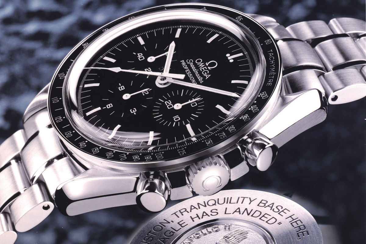 Omega Speedmaster Apollo XI 30th Eagle has landed ST 145.0223