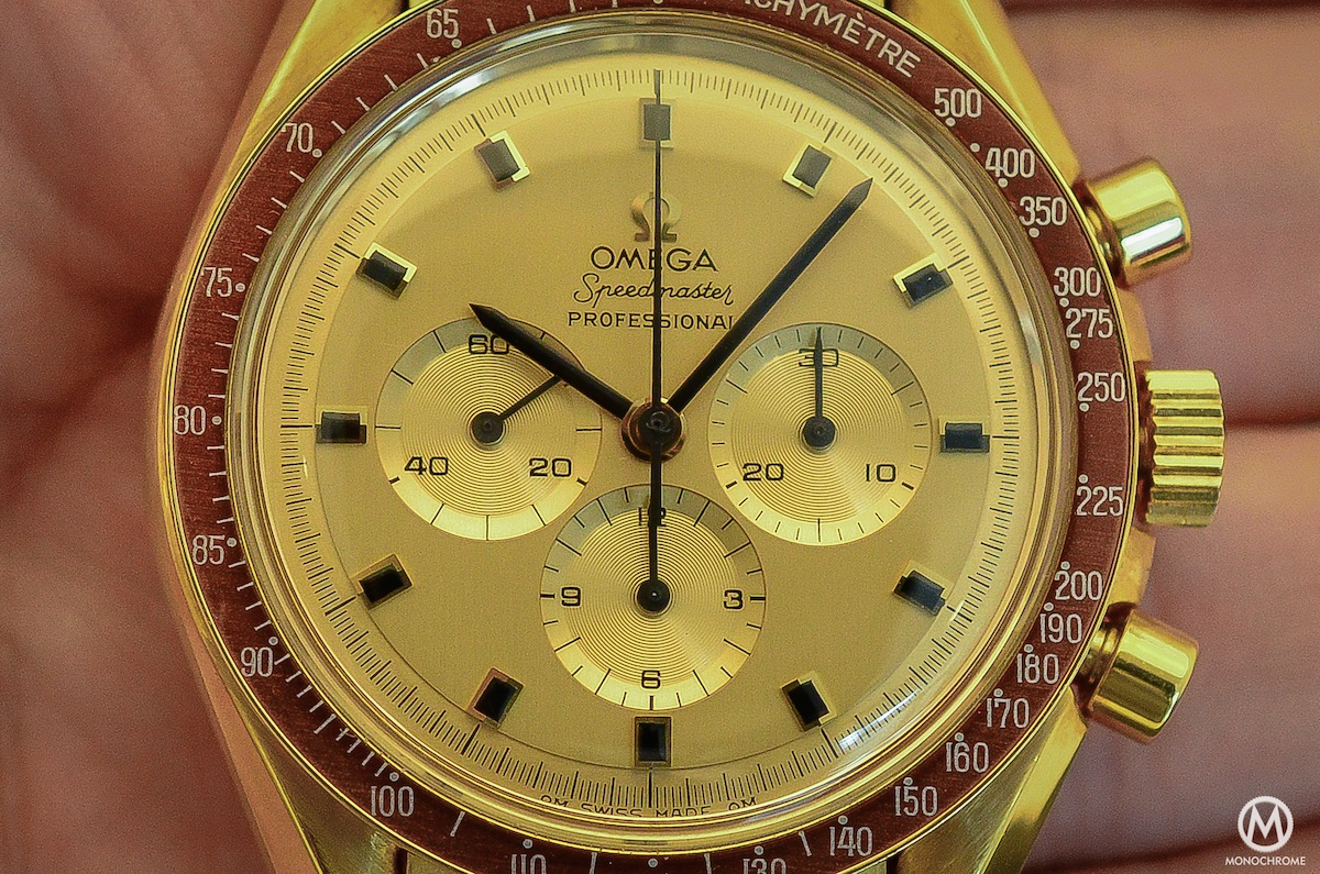 Omega Speedmaster Yellow Gold Ken Mattingly BA 145.022 - 3