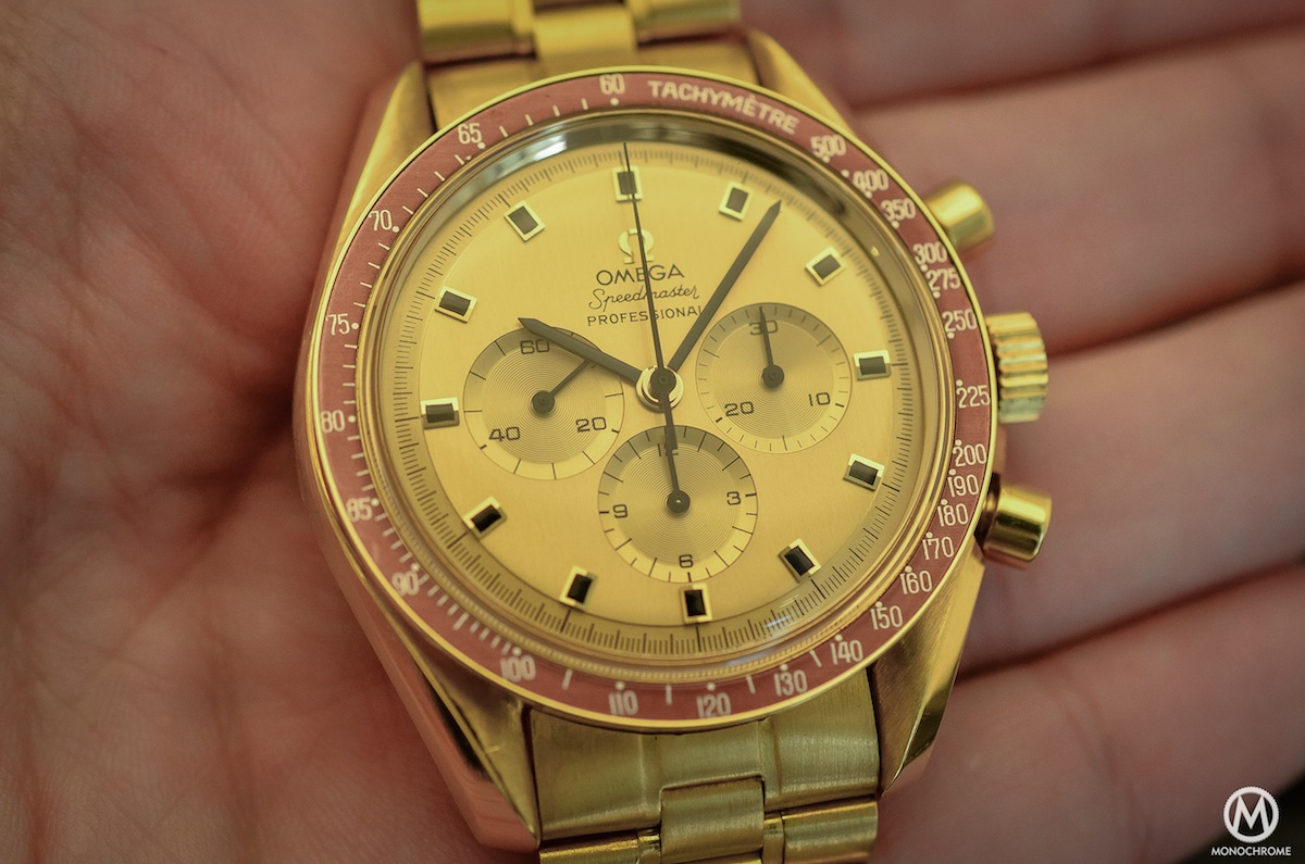 Omega Speedmaster Yellow Gold Ken Mattingly BA 145.022 - 4