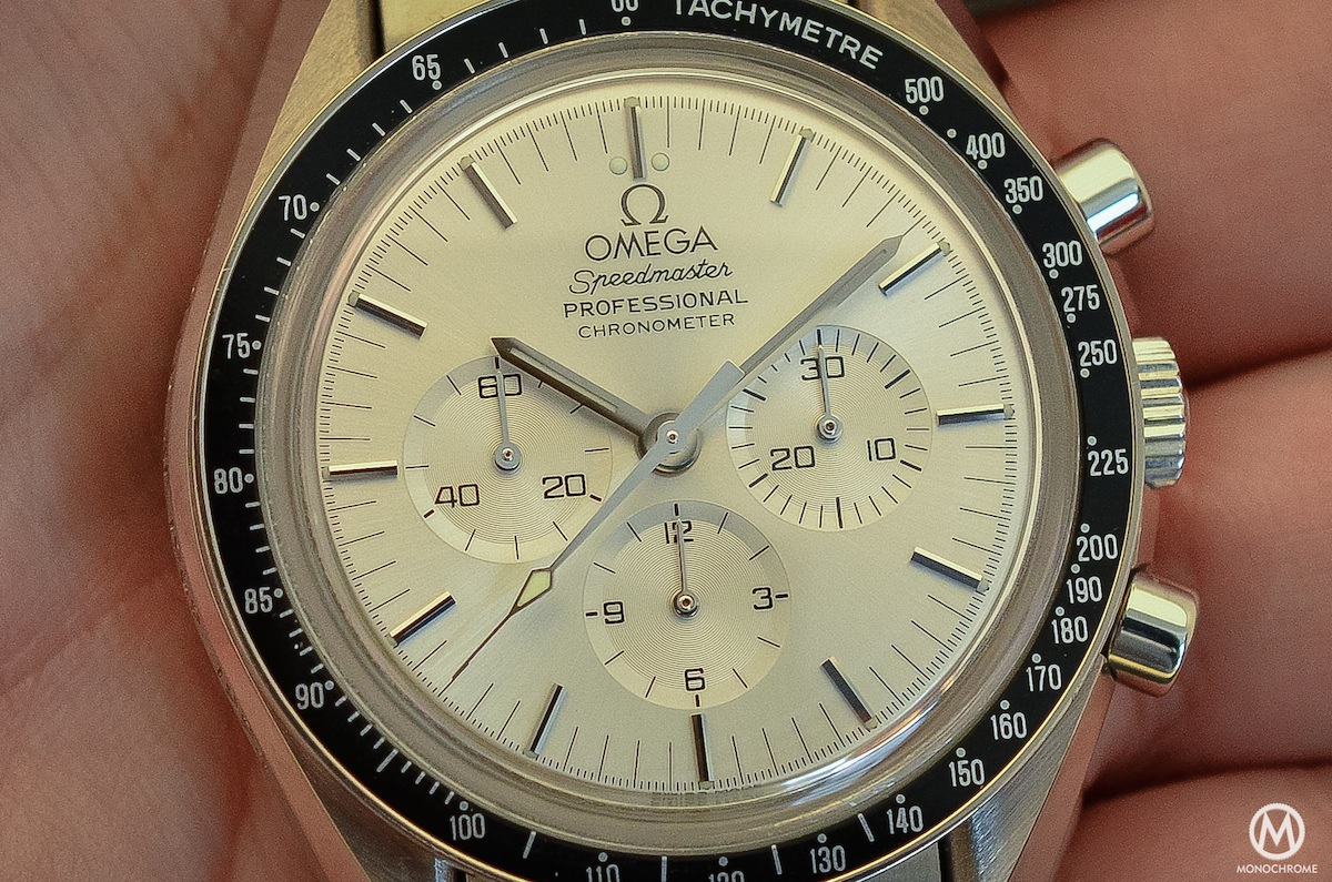 Omega Speedmaster white Gold Apollo 11 25th anniversary BC 348.0062 - 1
