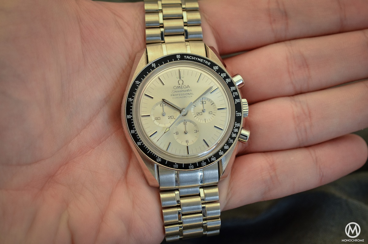 Omega Speedmaster white Gold Apollo 11 25th anniversary BC 348.0062 - 2