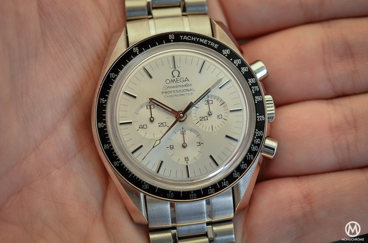 Omega Speedmaster white Gold Apollo 11 25th anniversary BC 348.0062 - 4
