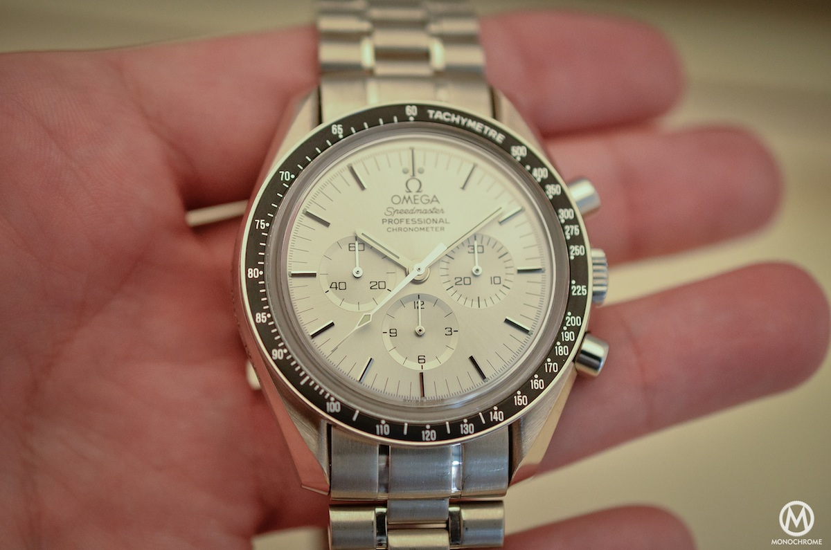 Omega Speedmaster white Gold Apollo 11 25th anniversary BC 348.0062 - 7