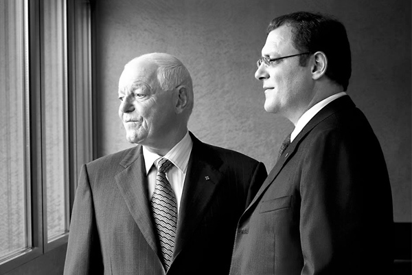 Philippe and Thierry Stern from Patek Philippe