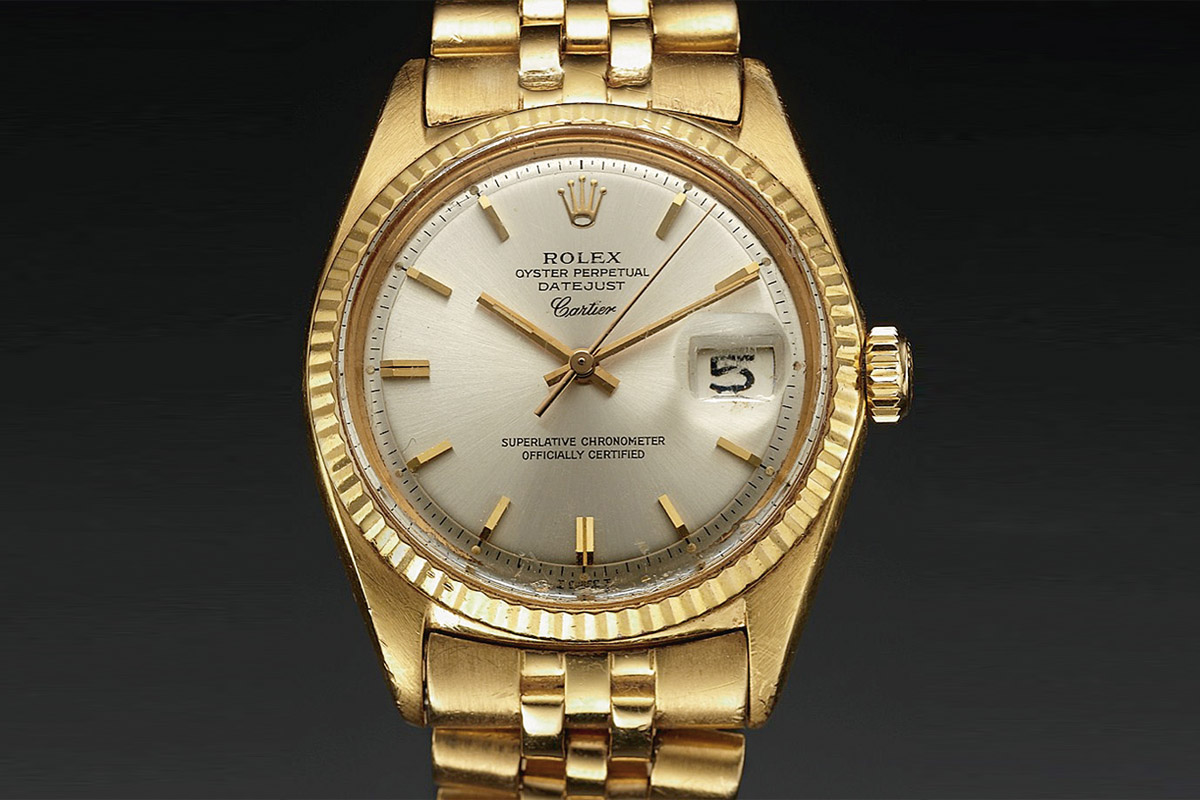 Rolex Datejust 1967 Gold - by cartier