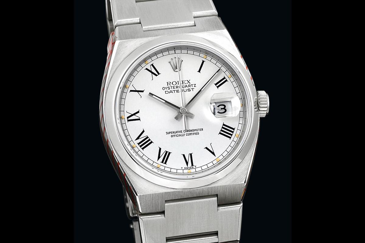 Rolex Datejust 1979 OysterQuartz Steel